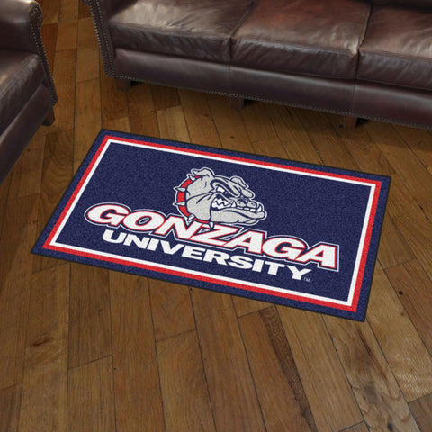 NCAA Gonzaga Bulldogs 3 X 5 Ft. Plush Area Rug - Bed, Bath, And My Team