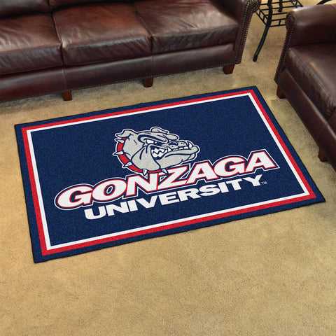 NCAA Gonzaga Bulldogs 4 X 6 Ft. Area Rug - Bed, Bath, And My Team