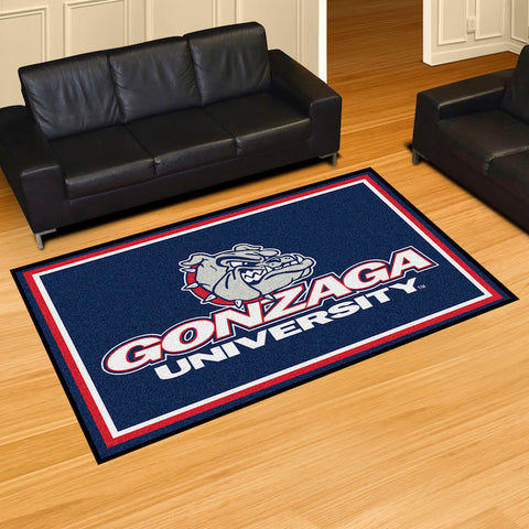NCAA Gonzaga Bulldogs 5 X 8 Ft. Area Rug - Bed, Bath, And My Team