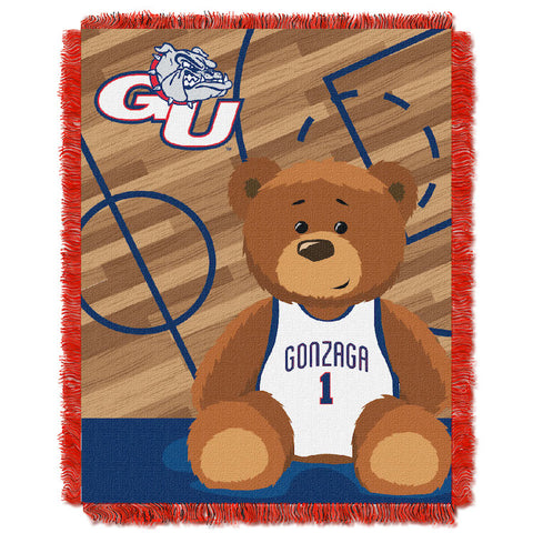 NCAA Gonzaga Bulldogs Baby Blanket - Bed, Bath, And My Team