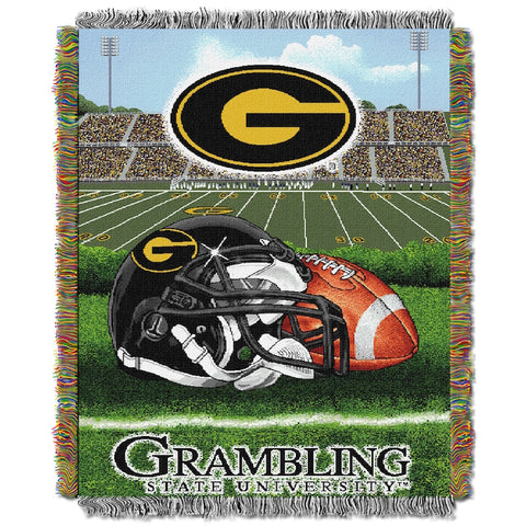 NCAA Grambling State Tigers HOME FIELD ADVANTAGE Tapestry - Bed, Bath, And My Team