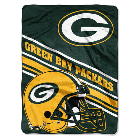 Green Bay Packers large plush blanket