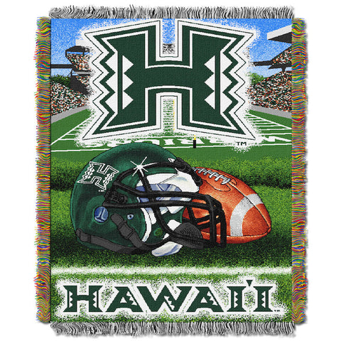 NCAA Hawaii Warriors HOME FIELD ADVANTAGE Tapestry - Bed, Bath, And My Team