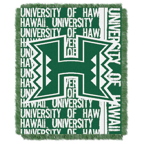 NCAA Hawaii Warriors Woven Decorative Tapestry - Bed, Bath, And My Team