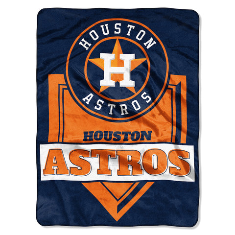 Houston Astros large plush blanket
