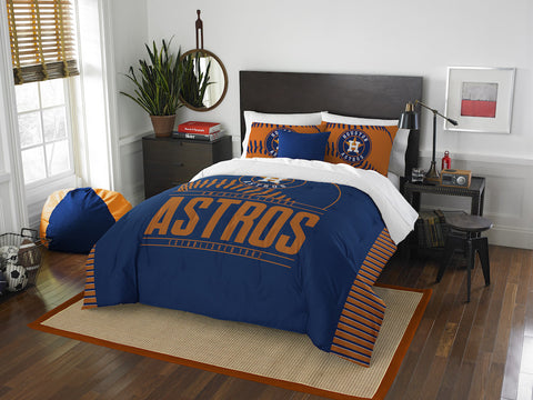 Houston Astros queen/full comforter and 2 shams