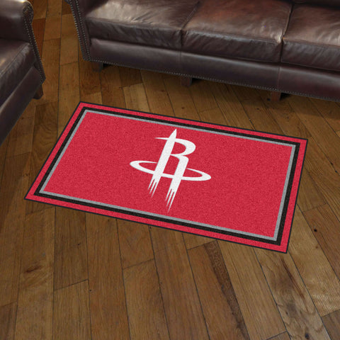 NBA Houston Rockets 3 X 5 Ft. Plush Area Rug - Bed, Bath, And My Team