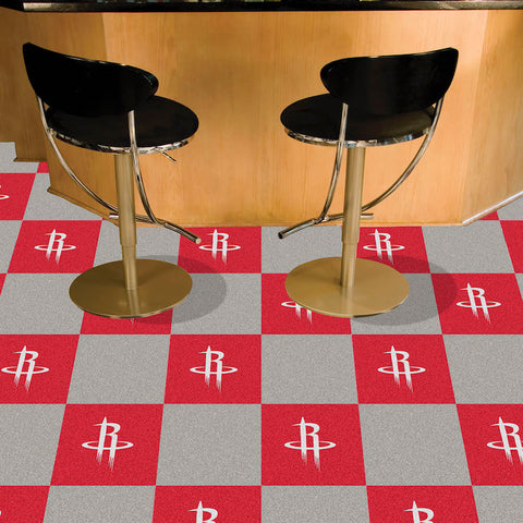 NBA Houston Rockets Carpet Tiles - Bed, Bath, And My Team