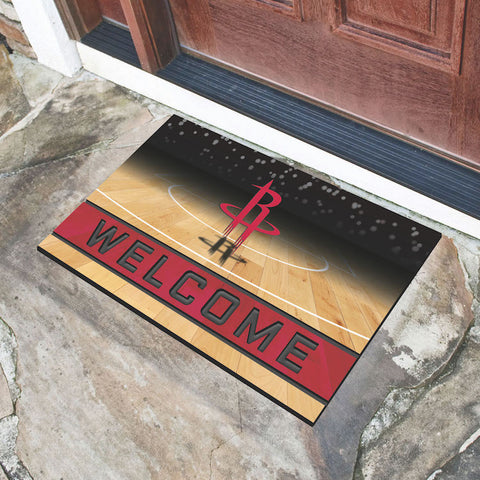 NBA Houston Rockets Recycled Rubber CRUMB Doormat - Bed, Bath, And My Team