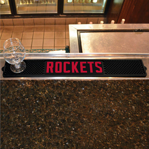 NBA Houston Rockets Bar and Drink Mat - Bed, Bath, And My Team