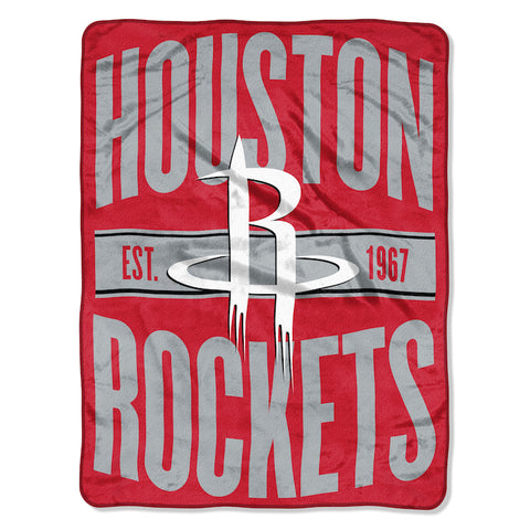 NBA Houston Rockets Micro Raschel Throw - Bed, Bath, And My Team
