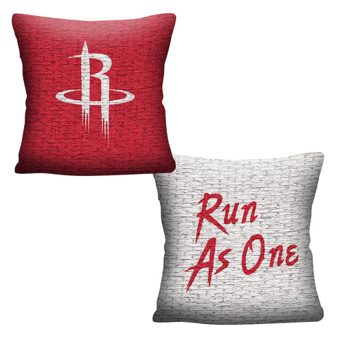 NBA Houston Rockets INVERT Throw Pillow - Bed, Bath, And My Team