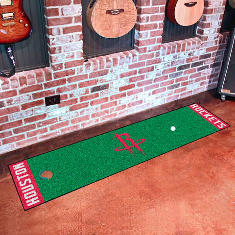 NBA Houston Rockets Putting Green Mat - Bed, Bath, And My Team