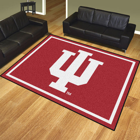 NCAA Indiana Hoosiers 8 X 10 Ft. Area Rug - Bed, Bath, And My Team