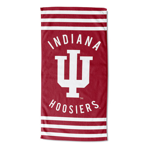 NCAA Indiana Hoosiers Beach Towel - Bed, Bath, And My Team