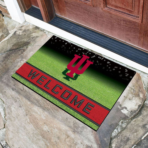 NCAA Indiana Hoosiers Recycled Rubber CRUMB Doormat - Bed, Bath, And My Team