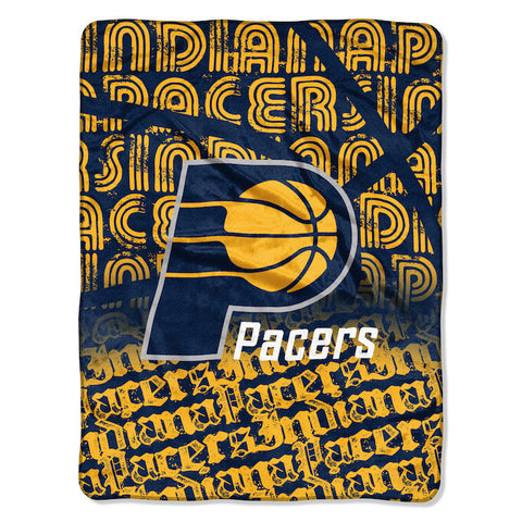 Indiana Pacers Micro Raschel Throw