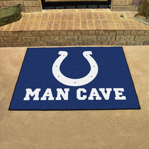Indianapolis Colts Man Cave All Star Mat