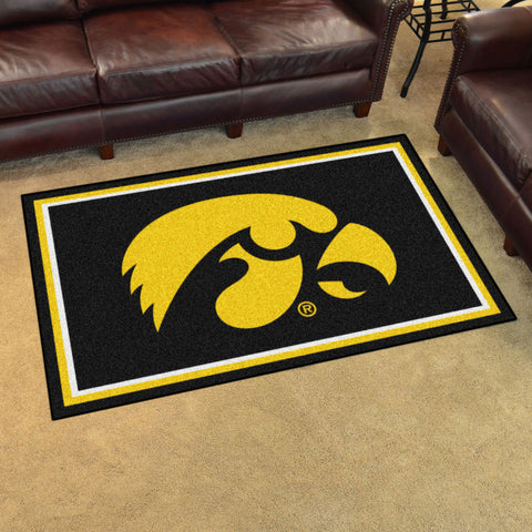 NCAA Iowa Hawkeyes 4 X 6 Ft. Area Rug - Bed, Bath, And My Team