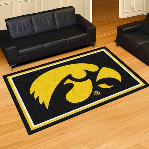 NCAA Iowa Hawkeyes 5 X 8 Ft. Area Rug - Bed, Bath, And My Team