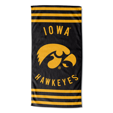 NCAA Iowa Hawkeyes Beach Towel - Bed, Bath, And My Team
