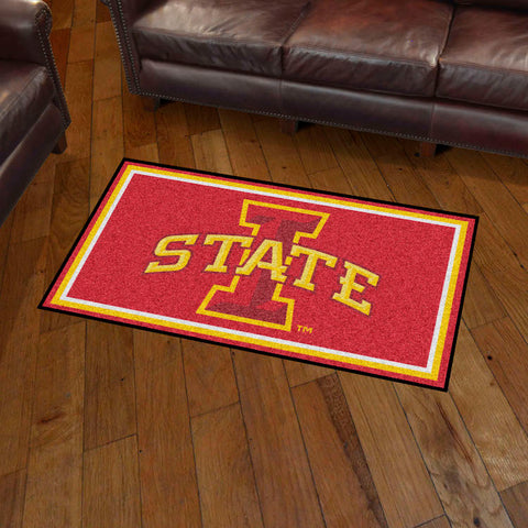 NCAA Iowa State Cyclones 3 X 5 Ft. Plush Area Rug - Bed, Bath, And My Team