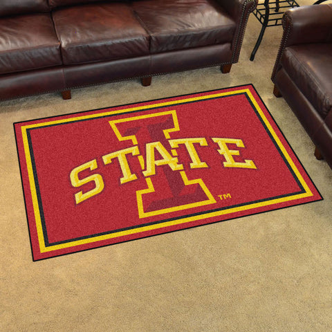 NCAA Iowa State Cyclones 4 X 6 Ft. Area Rug - Bed, Bath, And My Team