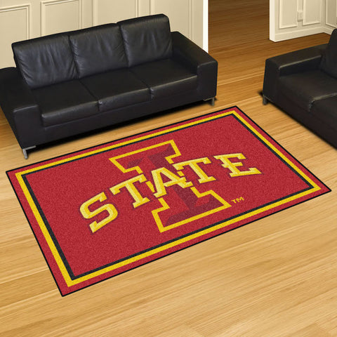 NCAA Iowa State Cyclones 5 X 8 Ft. Area Rug - Bed, Bath, And My Team