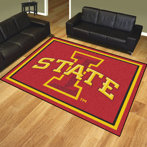 NCAA Iowa State Cyclones 8 X 10 Ft. Area Rug - Bed, Bath, And My Team