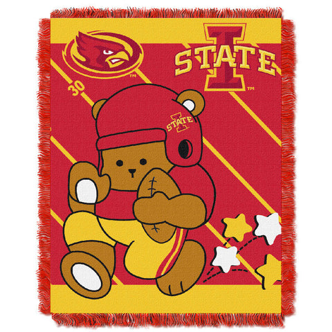 NCAA Iowa State Cyclones Baby Blanket - Bed, Bath, And My Team