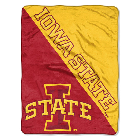 NCAA Iowa State Cyclones Micro Raschel Throw - Bed, Bath, And My Team