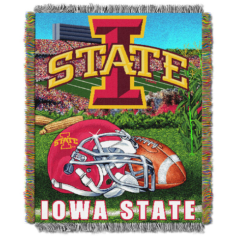 NCAA Iowa State Cyclones HOME FIELD ADVANTAGE Tapestry - Bed, Bath, And My Team