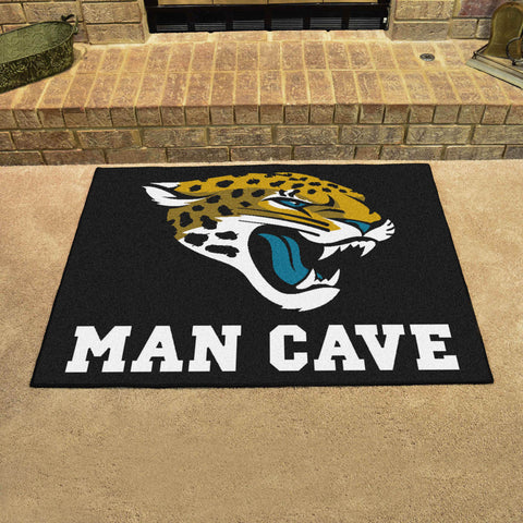 Jacksonville Jaguars Man Cave All Star Mat