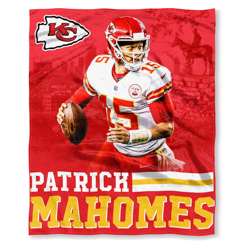 Kansas City Chiefs Patrick Mahomes Blanket