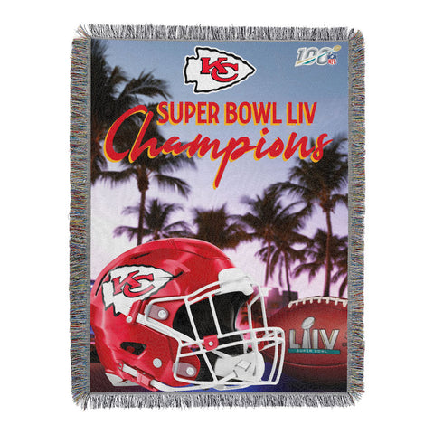 Kansas City Chiefs Super Bowl Champions Tapestry