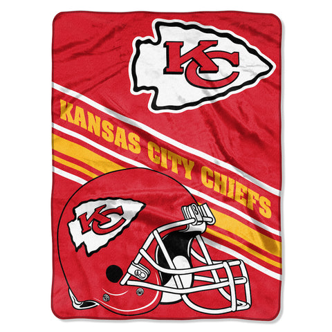 Kansas City Chiefs large plush blanket