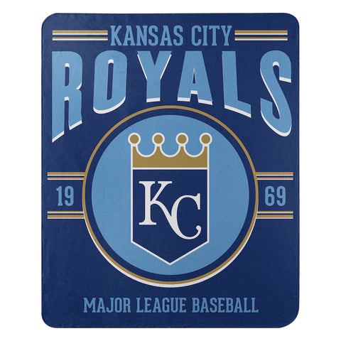 MLB Kansas City Royals Fleece Throw ~ 50 x 60 - Bed, Bath, And My Team
