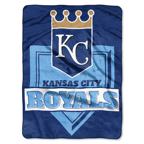 Kansas City Royals large plush blanket