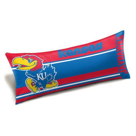 NCAA Kansas Jayhawks King Size Body Pillow - Bed, Bath, And My Team