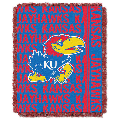 NCAA Kansas Jayhawks Woven Decorative Tapestry - Bed, Bath, And My Team