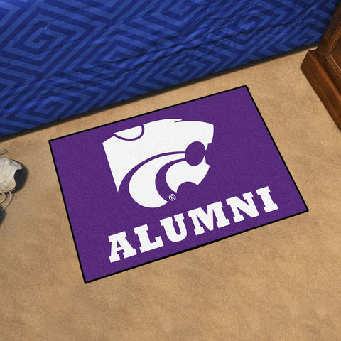 NCAA Kansas State Wildcats ALUMNI Starter Rug - Bed, Bath, And My Team