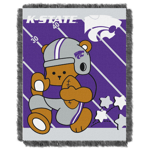 NCAA Kansas State Wildcats Baby Blanket - Bed, Bath, And My Team