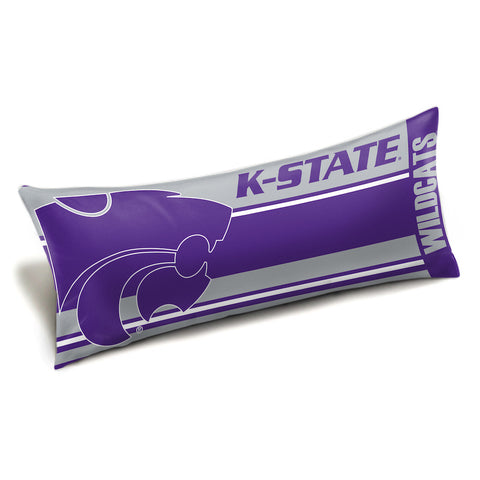 NCAA Kansas State Wildcats King Size Body Pillow - Bed, Bath, And My Team