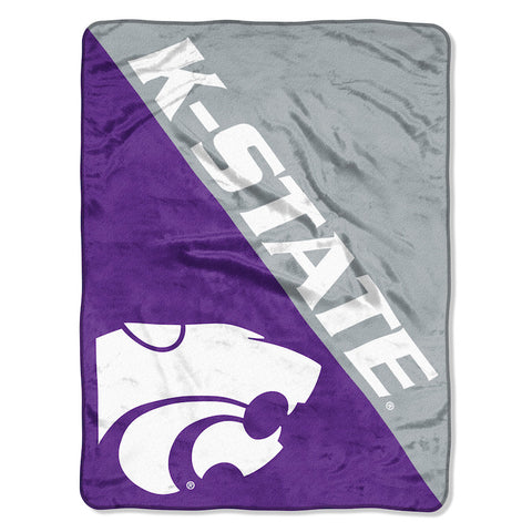 NCAA Kansas State Wildcats Micro Raschel Throw - Bed, Bath, And My Team