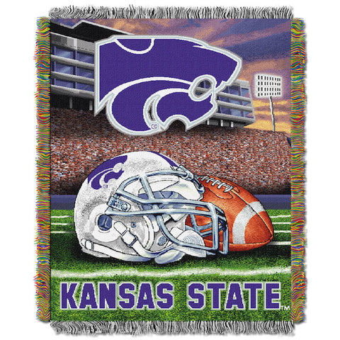 NCAA Kansas State Wildcats HOME FIELD ADVANTAGE Tapestry - Bed, Bath, And My Team