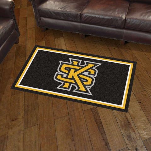 NCAA Kennesaw State Owls 3 X 5 Ft. Plush Area Rug - Bed, Bath, And My Team