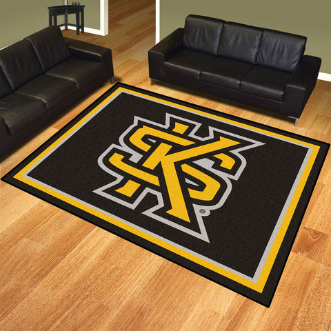 NCAA Kennesaw State Owls 8 X 10 Ft. Area Rug - Bed, Bath, And My Team