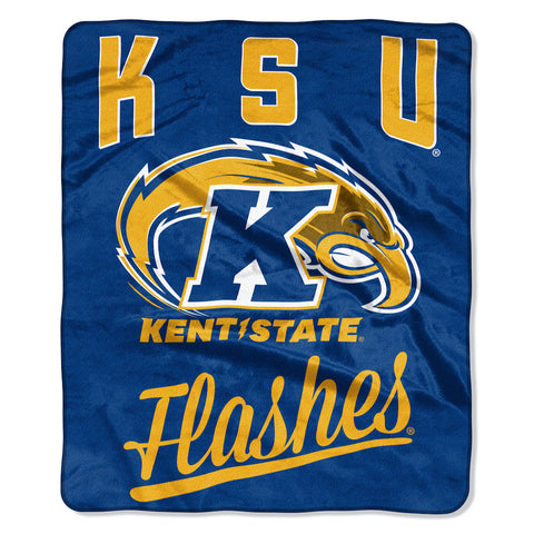 NCAA Kent State Golden Flashes 50 x 60 Alumni Raschel Throw Blanket - Bed, Bath, And My Team