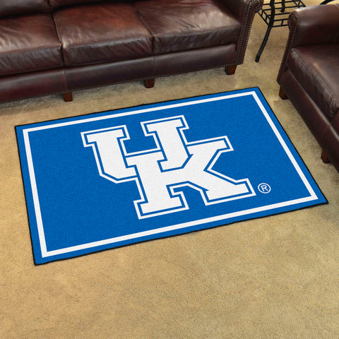 NCAA Kentucky Wildcats 4 X 6 Ft. Area Rug - Bed, Bath, And My Team