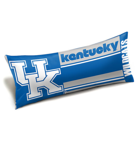 NCAA Kentucky Wildcats King Size Body Pillow - Bed, Bath, And My Team